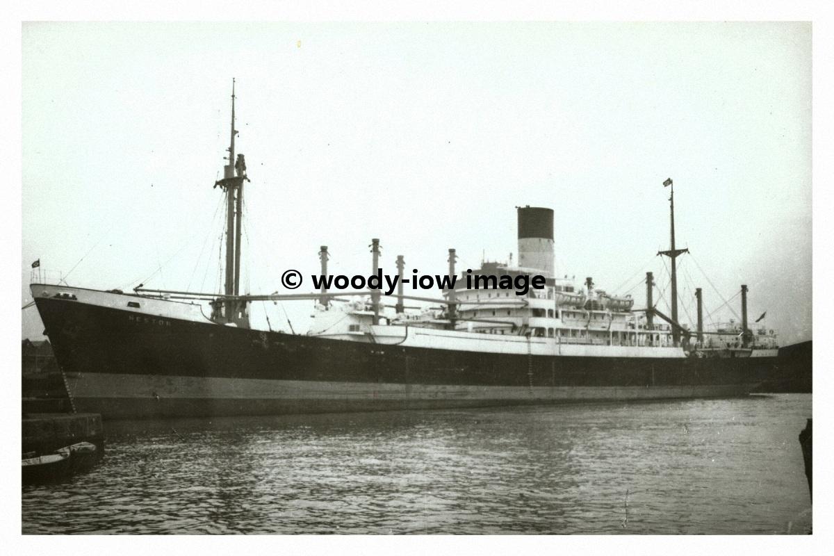 Rp00600 blue funnel cargo ship nestor built 1953 for Built by nester